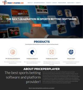PricePerPlayer.com - sports betting software company